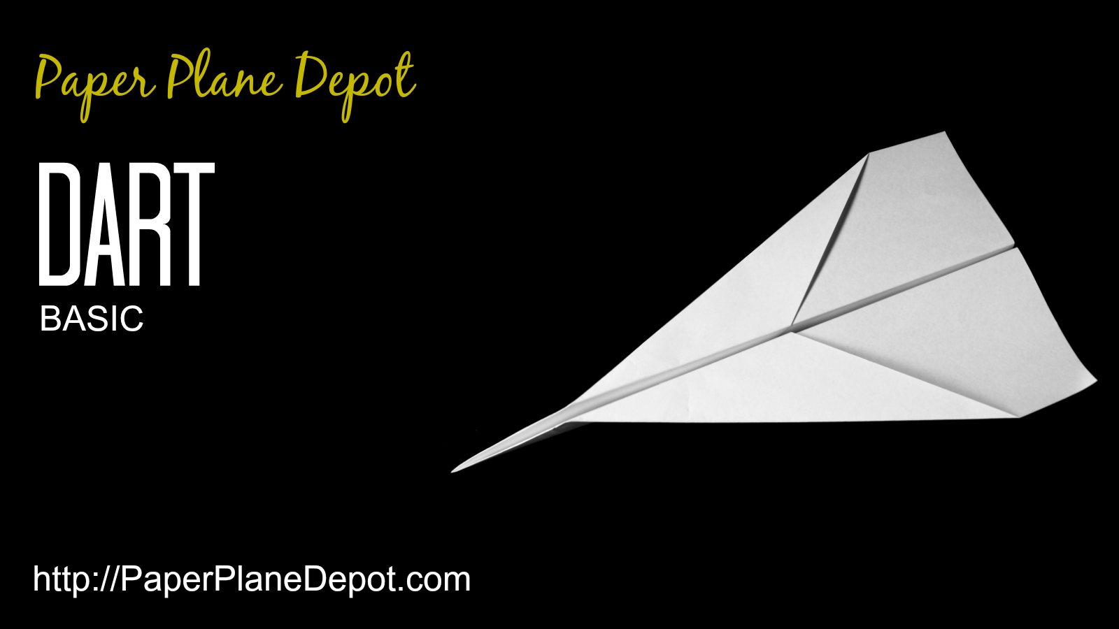 Plane Instructions Basic Dart