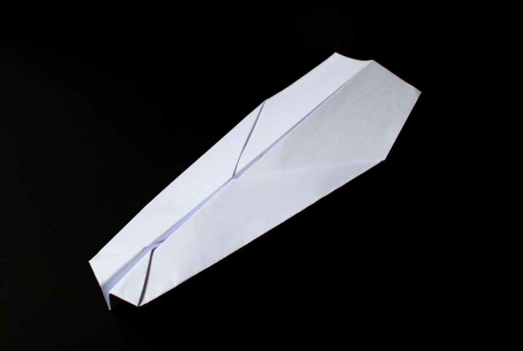 How to make a paper aeroplane via http://PaperPlaneDepot.com