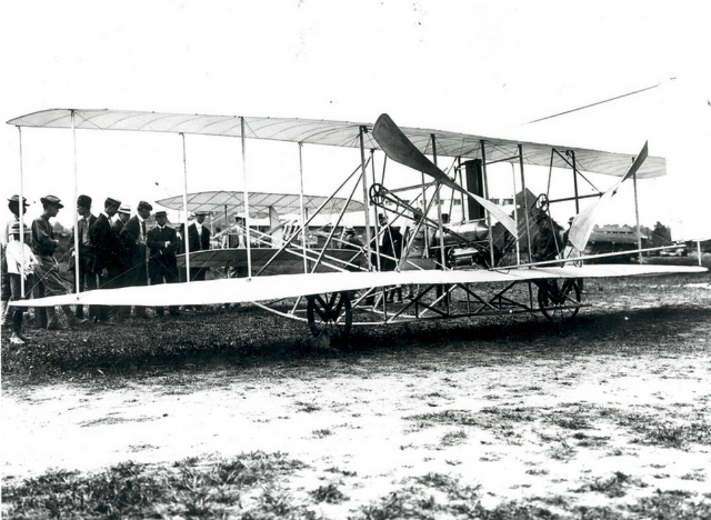 Wright Brothers test plane - The Wright Flyer demonstrations at Fort Myer, Virginia on September 3, 1908