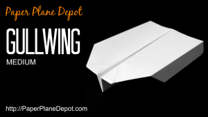 How to make an awesome paper airplane - the Gullwing glider. Kid-friendly site with simple tutorials, tips, experiments and trouble-shooting guides via http://PaperPlaneDepot.com