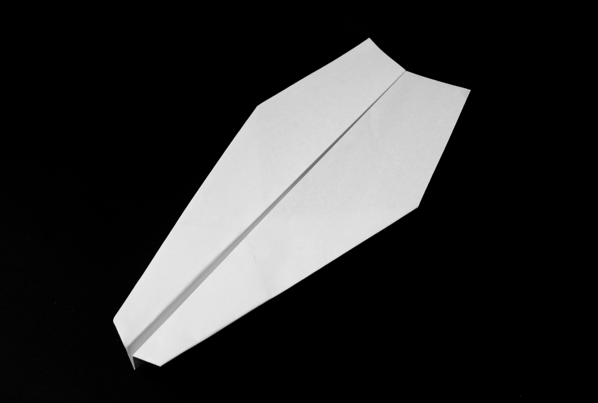 Bullnose Glider Paper Plane Depot