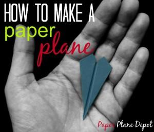 Trouble Shooting Paper Plane Depot